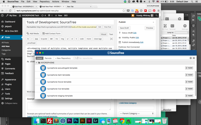 Tools of Development: SourceTree